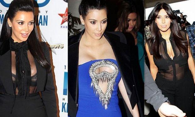 Τα πιο τρελά ντυσίματα της εγκυμονούσας Kim Kardashian μέχρι σήμερα! (φωτό)