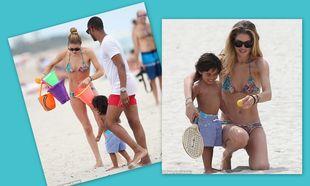 Doutzen Kroes: Με το γιο της στο Μαϊάμι!