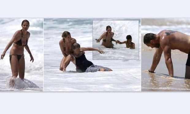 Οι δραματικές στιγμές της Heidi Klum όταν προσπαθούσε να σώσει τον γιο της και τις νταντάδες του από τα κύματα! (φωτό)