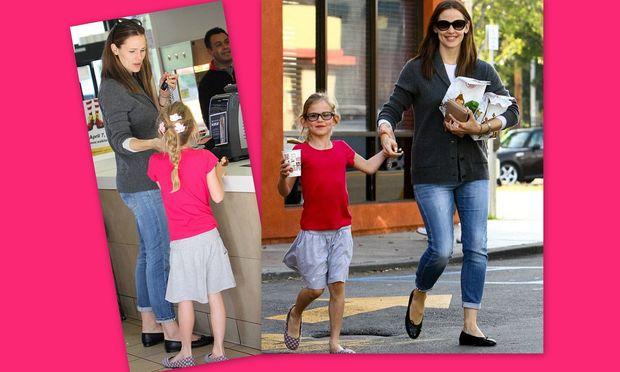 Jennifer Garner: Mε την κόρη της για junk food!