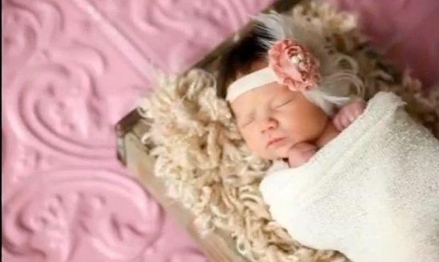 Η υπέροχη φωτογράφηση της νεογέννητης Aria!