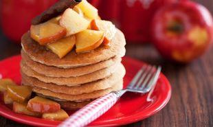 Νόστιμες τηγανίτες με μήλο!