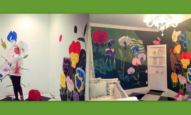 Η Holly Madison έφτιαξε μόνη της το δωμάτιο της κόρης της!