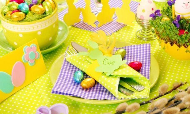 Όμορφα διακοσμητικά για το Πασχαλινό σας τραπέζι!
