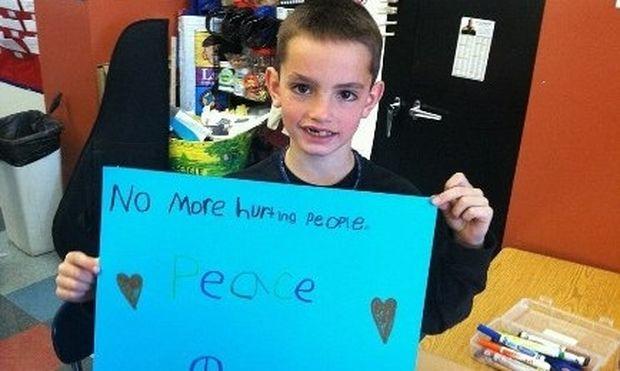Το συγκλονιστικό μήνυμα του πατέρα του 8χρόνου Μάρτιν που σκοτώθηκε στην επίθεση της Βοστώνης!