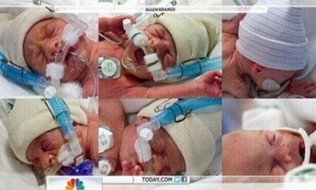 Είναι έξι, υγιή και γεννήθηκαν με διαφορά τεσσάρων λεπτών!