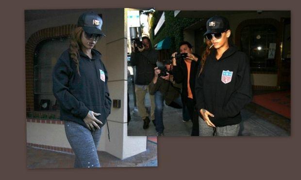 Αυτές είναι οι φωτογραφίες που προδίδουν την εγκυμοσύνη της Rihanna!