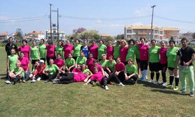 Γυναίκες έπαιξαν ποδόσφαιρο για να χειρουργηθεί μικρός μαθητής!