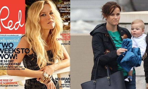 Reese Witherspoon: «Ο γιος μου μου έκλεψε το μυαλό»