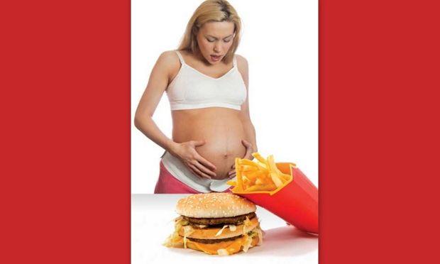 Το junk food στην εγκυμοσύνη προκαλεί εθισμό στο παιδί!