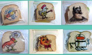 Ο απίθανος μπαμπάς που εδώ και 5 χρόνια ζωγραφίζει κάθε μέρα τα σακουλάκια των sandwich των παιδιών του!