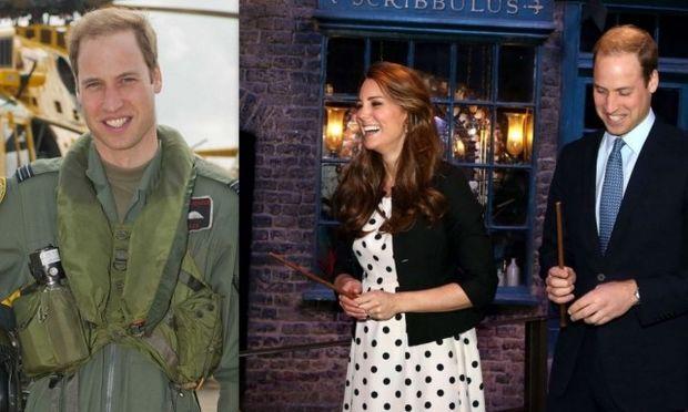 Ο Πρίγκιπας William παραιτείται από την αεροπορία για να είναι με την Kate και το μωρό!