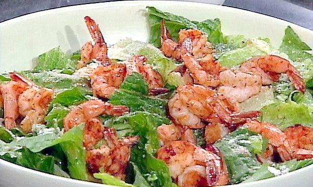 Σαλάτα με γαρίδες και λαχανικά!