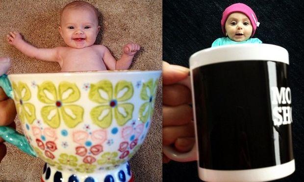 Θες καφέ; Πιες καλύτερα για καλημέρα ένα... μωρό! (φωτό)