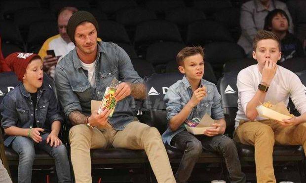 David Beckham: «Τα αγόρια μας είναι πολύ ευγενικά»