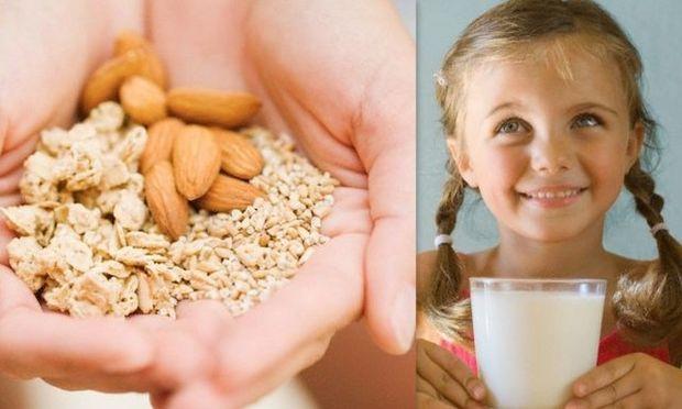 Έρευνα: Τα αμύγδαλα είναι το ίδιο σημαντικά με το γάλα για να έχουν τα παιδιά σας γερά κόκαλα!