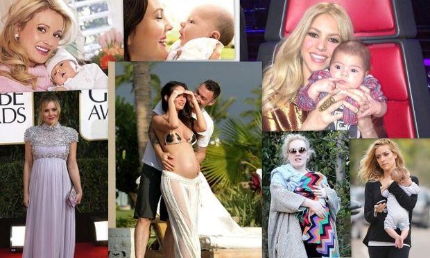 Οι διάσημες μαμάδες που γιορτάζουν για πρώτη φορά τη Γιορτή της Μητέρας