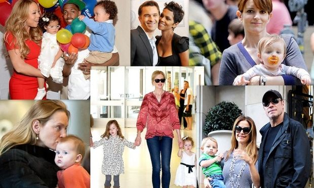 Διάσημες που έγιναν μαμάδες μετά τα 40!