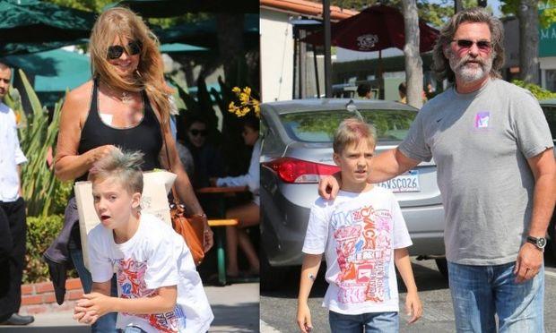 Ο γιος της Kate Hudson για ψώνια με τον παππού και τη γιαγιά!