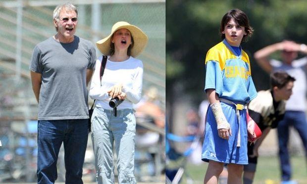 Harrison Ford-Calista Lockhart: Περήφανοι γονείς για τον 12χρονο γιο τους! (φωτό)