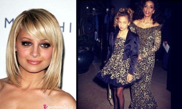 Η Nicole Richie αγνώριστη σε παιδική ηλικία μαζί με τη μητέρα της!