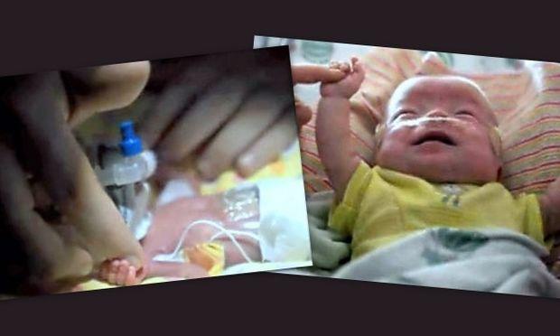 Κατάφερε να ζήσει το μικρότερο μωρό που γεννήθηκε ποτέ! Τώρα πια είναι στο σπίτι του!