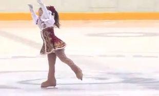 Δείτε σε απίθανες χορευτικές φιγούρες την μικρότερη skater του κόσμου