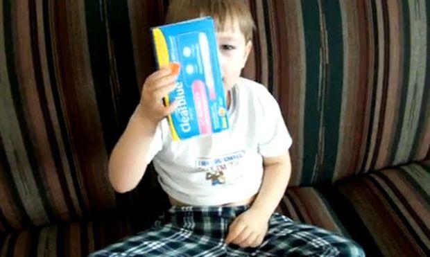 Βίντεο: Θέλει η μαμά του να κάνει το τεστ εγκυμοσύνης για να δει αν είναι παντρεμένη!