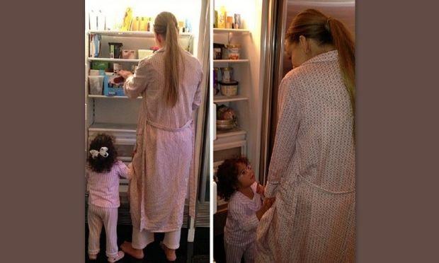 Μαράια Κάρεϊ: Στιγμές της με τα δίδυμα και η… επιδρομή στο ψυγείο τα μεσάνυχτα!