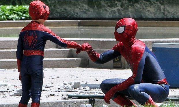 Ένας μικρός Spider man στο πλευρό του «πραγματικού» στη νέα ταινία του σούπερ ήρωα!