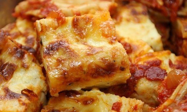 Υπέροχα λαζάνια με τυρί στον φούρνο!