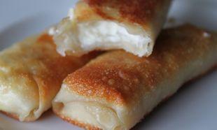 Υπέροχα ρολάκια με γεύση τυριού!