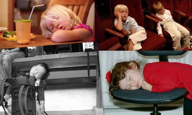 Φωτογραφίες μωρών που κοιμούνται στα πιο απίθανα μέρη!