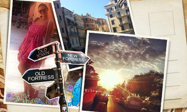 Despoina's little stories: «Ταξίδι στην Κέρκυρα!»