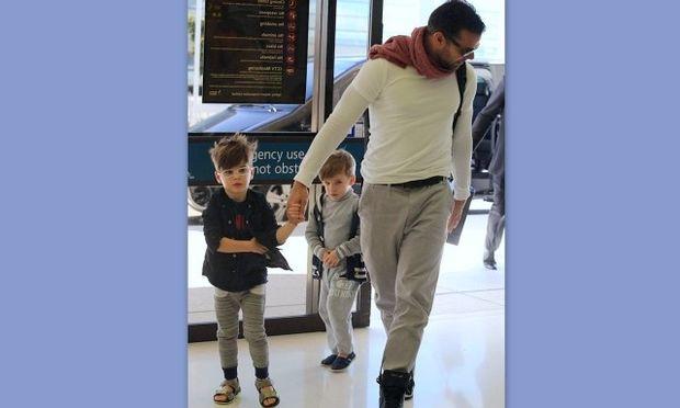 Ρίκι Μάρτιν: Πουθενά χωρίς τους γιους του! (φωτό)