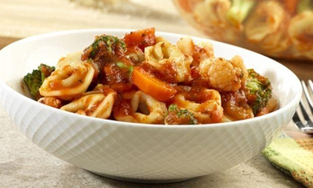 Συνταγή για τορτελίνια με λαχανικά!