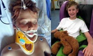 11χρονο αγόρι ξυπνάει από κώμα μετά από βαθύ τραύμα στο κεφάλι!