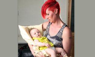 Η τραγική ιστορία της μόλις πέντε μηνών Λέξι (φωτό)