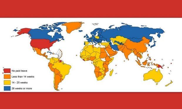 Άδεια μετ' αποδοχών για τις νέες μητέρες: Ποιες χώρες δεν το έχουν προβλέψει;