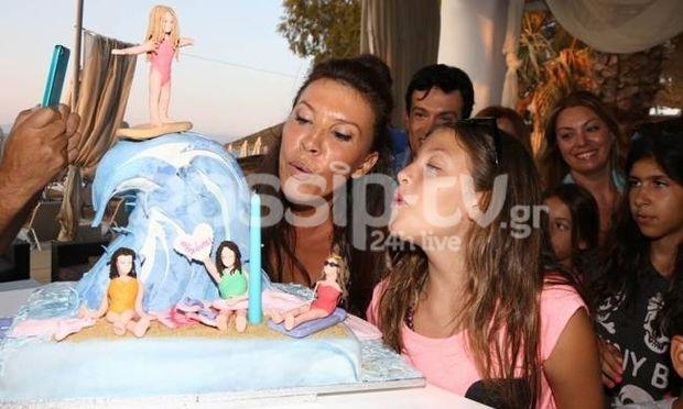 Το beach birthday party της κόρης της Βάνας Μπάρμπα
