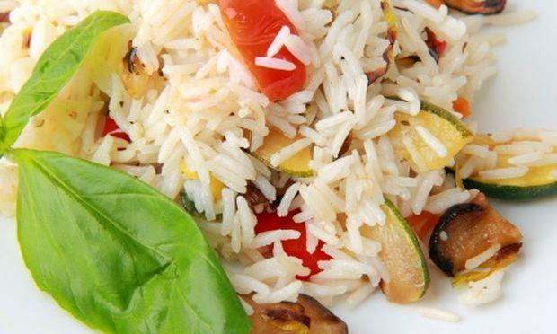 Συνταγή για πεντανόστιμη ρυζοσαλάτα!