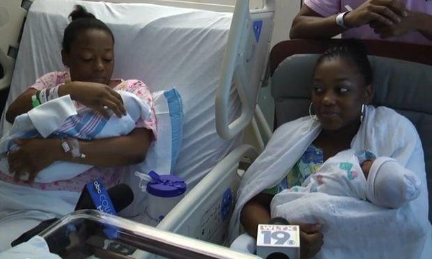 Δίδυμες αδελφές γέννησαν την ίδια μέρα! (Βίντεο)