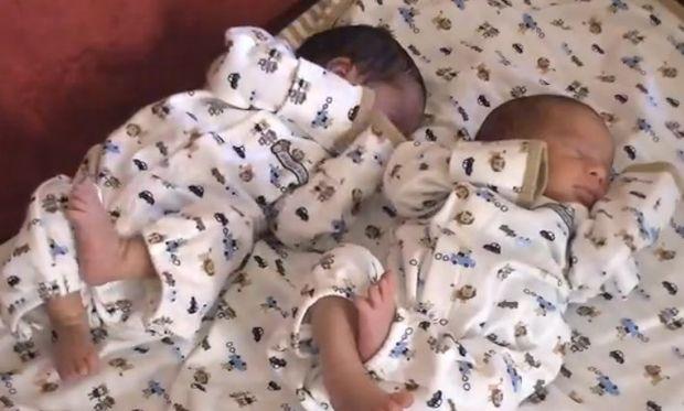 Απίστευτο: Γέννησε δίδυμα για τρίτη φορά! (Βίντεο)