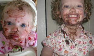 Από μωρό τρώει άτσαλα και συνεχίζει μεγαλώνοντας...