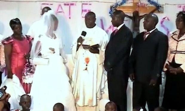Ο γάμος καθυστέρησε γιατί η νύφη γεννούσε κατά τη διάρκεια της τελετής!