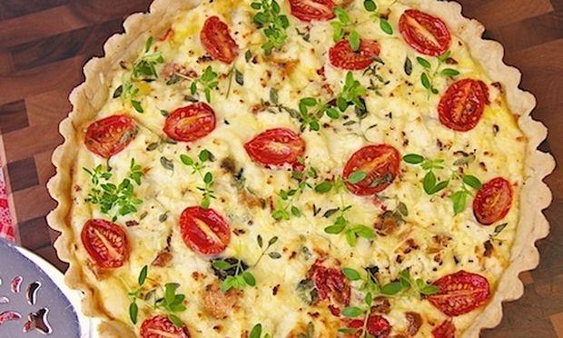 Συνταγή για φανταστική τάρτα με λαχανικά!