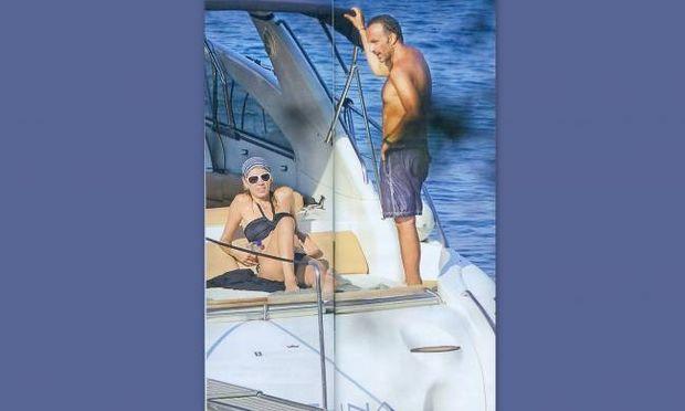 Νίκος Αλιάγας: Οι πρώτες διακοπές με την γυναίκα του και την κόρη του!