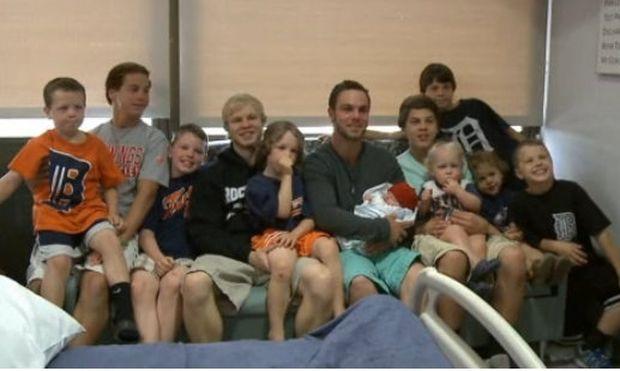 Ήλπιζαν να κάνουν κορίτσι, και τελικά απέκτησαν τον 12ο γιο!