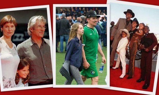 Διάσημοι με τα παιδιά τους! (φωτογραφίες)