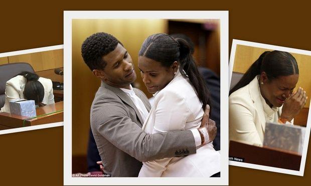 Η κατάρρευση της πρώην γυναίκας του Άσερ όταν άκουσε την ετυμηγορία για την επιμέλεια των παιδιών τους! (φωτογραφίες)